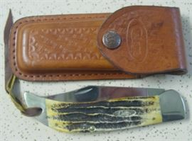Year 2005 Large Case XX Knife w/Sheath