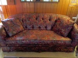 Beautiful custom upholstered couch.  Excellent condition