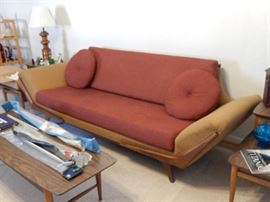 FANTASTIC MID-CENTURY SOFA-PRISTINE CONDITION