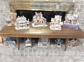 GROUPING OF A FEW OF CHRISTMAS HOUSES