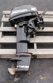 1990 15hp Mercury Outboard Motor