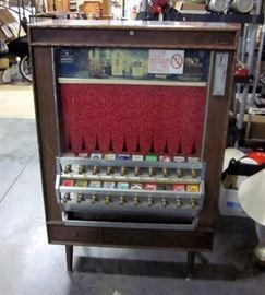 "Mid Century National Vendors 800 Series 20-Slot Cigarette Vending Machine, 35"" x 55"" x 15"""