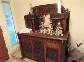 Arts and crafts 1800's sideboard
