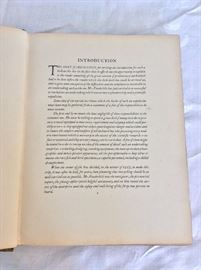 Introduction page. (To Galapagos on the Ara, 1926. William K Vanderbilt, author-signed. Privately Printed. 900 copies.)