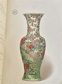 Color Plates.  (Catalogue of the Morgan Collection of Chinese Porcelains, JP Morgan. 1904. Privately Printed, 250 copies.)