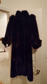 Full length Fur Coat Size X Small