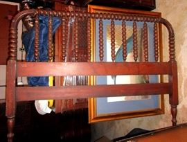 Ginny Lind bed frame ( head and foot) with matching dresser and chest of drawers