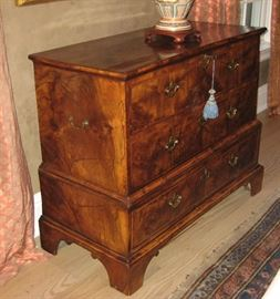 Gorgeous Walnut Antique Blanket Chest