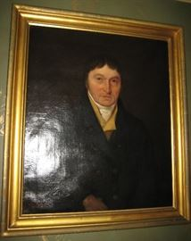 19th C. Portrait of American Ship's Doctor