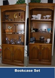 Two furniture bookcases / set
