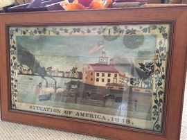 Many Country themed framed art and prints