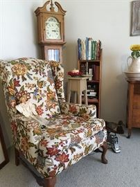 2 Wingback chairs, great condition