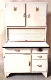 Early kitchen cabinet