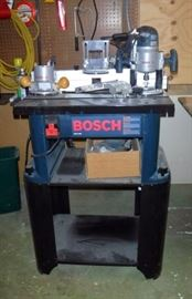 Bosch Router and Router Table