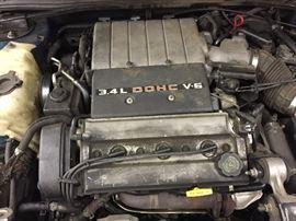 Oldsmobile Cutlass Supreme V6 Engine