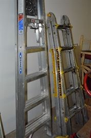Werner and Little Giant Ladders