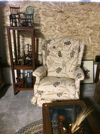Collection of miniature rockers, recliner
