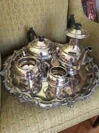Vintage Silverplate Tea and coffee service