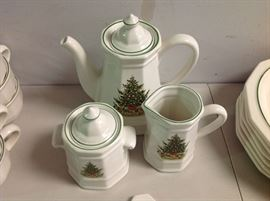 "Pfaltzgraff ""Christmas Heritage"" - Coffee Set - Approx. 3 Pieces"