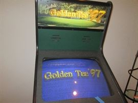 Fully functioning Golden Tee arcade game