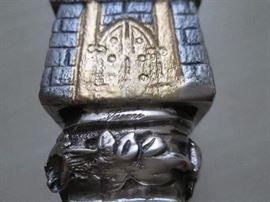 Each piece is marked Vasari