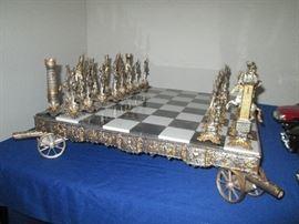 Napoleonic chessboard.