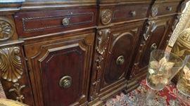 Italian Mahogany Sideboard $2400 original price $7200