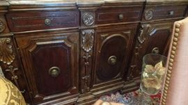 Mahogany sideboard $2400 original price $7200 measures 6'x20""