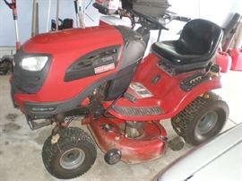 "YT4000 Craftsman Lawn Tractor, 2011, 24HP Briggs & Stratton Engine, 42"" Cut, Deck isn't working"