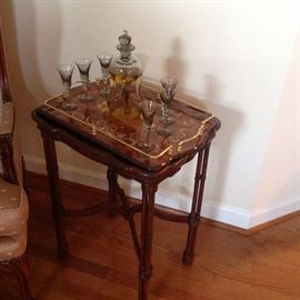 Oriental Style Occassional Table