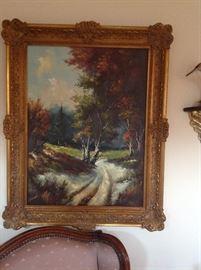 Canvas Landscape Print