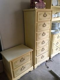 dresser, side table