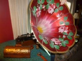 Morning Glory Edison Cylinder Phonograph