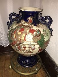 Several antique decorative pieces from China and Japan. (These are not modern Chinese pieces).
