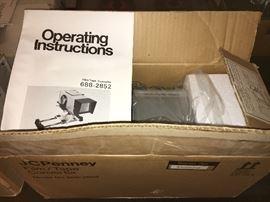 J.C. Penney film/tape converter--new in box.