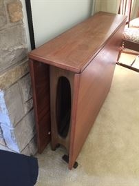Furniture maker Cantori Mid century drop leaf  made in Norway  $300.