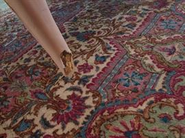One of several rugs that will be drastically reduced