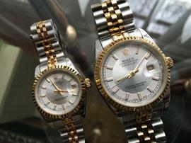 Matching Rolex 18k