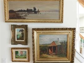 listed art