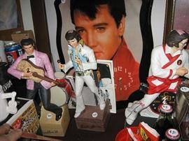 Elvis liquor bottles
