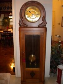 Stunning unique Grandfather Clock chimes