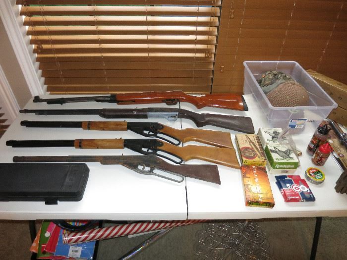 Vintage Red Ryder BB Guns, BBs, Hopper Gun Cleaner Kit