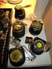 John Deere Franklin Mint Pocket Watches