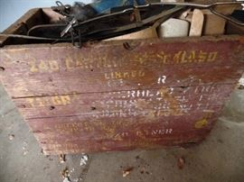 Wooden box, great decoration idea
