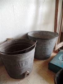 Vintage buckets