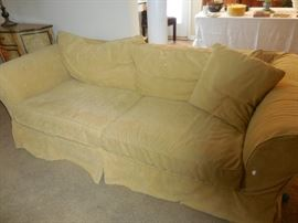 Mitchell Gold+ Bob Williams Sofa was purchased at Crate Barrel. Slip Cover/Pillow Shams..Is machine washable.VERY COMFY