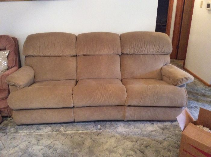 Sofa - each end is a recliner