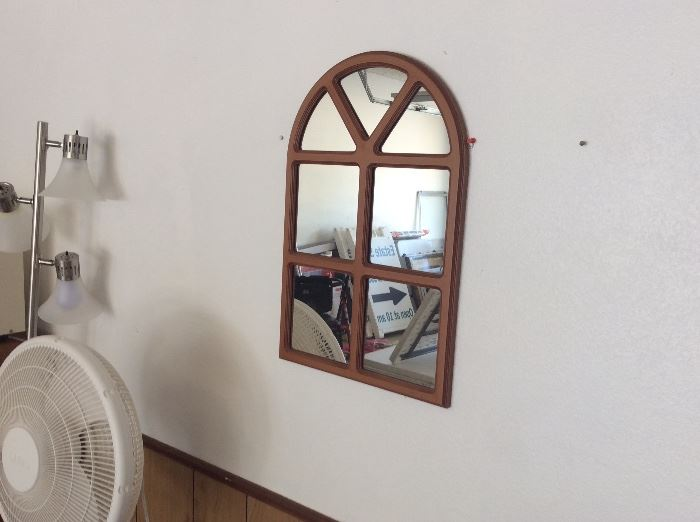 Great old wooden mirror