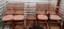 Leopold Stickley Original Cherry Dining Chairs, 2 Armchairs, 7 Side Chairs