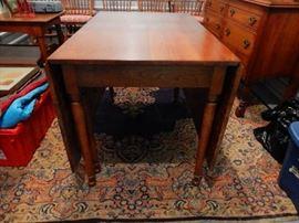 "Leopold Stickley 1953 Cherry Gate Leg Drop Leaf Table 44""Wx71""Lx30""H"